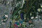홍릉시험림 주요 수목의 공간 DB화