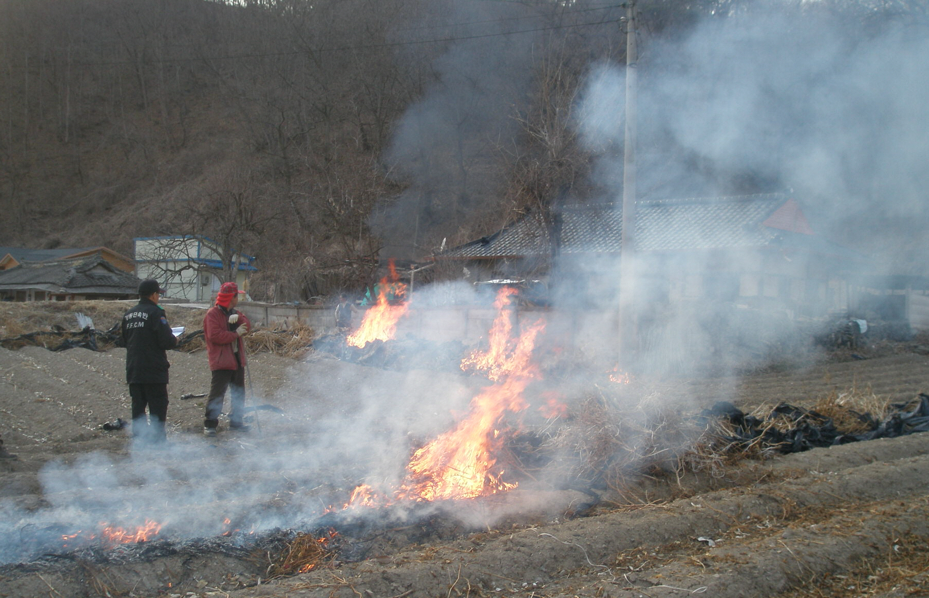 소각산불, 농촌 고령자 사망사고 잇따라 이미지1