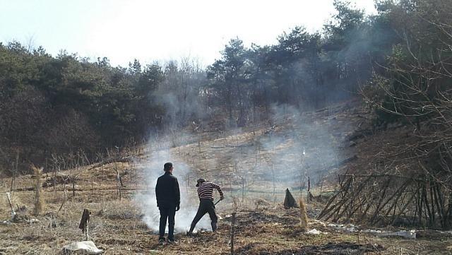 산림청 직원들, 주말 반납... 특별 기동단속 강화 이미지1