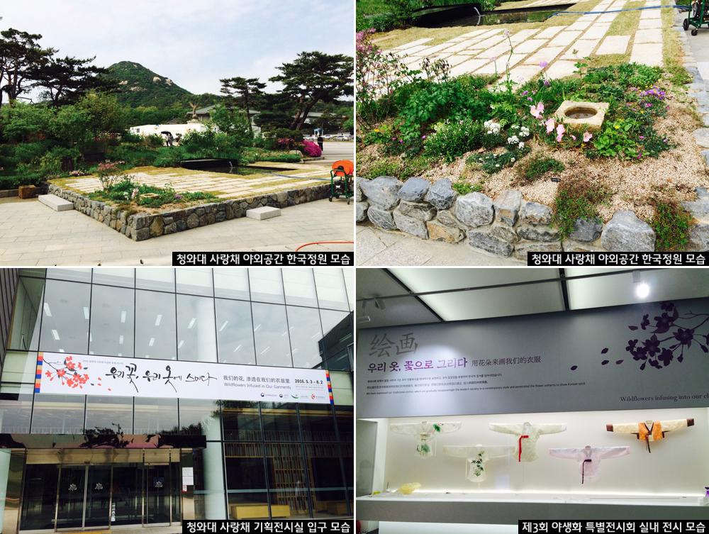 5월 3일~8월 2일, 청와대 사랑채에서 '야생화 특별 전시회' 열려 이미지1
