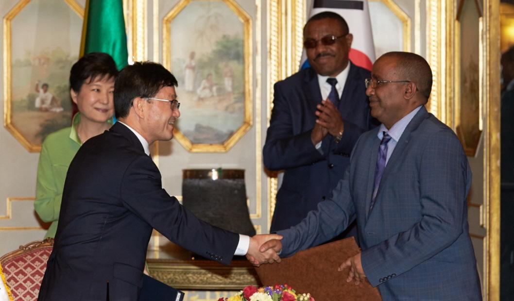 한-에티오피아 산림협력 정상회담 계기로 확대 이미지1